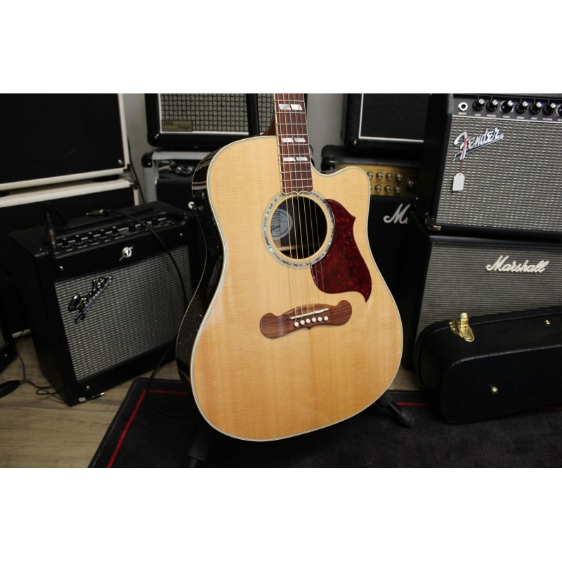 Gibson Songwriter Deluxe Studio Antique Natural - Occasion