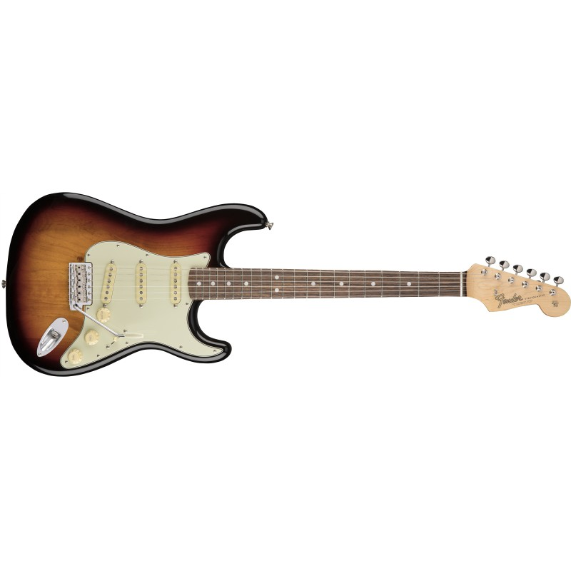 Fender American Original '60s Stratocaster® 3-Color Sunburst - Guitare électrique
