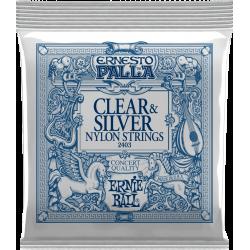 2403 Jeux - Nylon clair-métal argenté