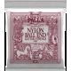 Ernie Ball 2409 Jeux - Nylon noir-métal doré à boule