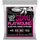 Ernie Ball Jeux - Flat Wound Super slinky 45-100