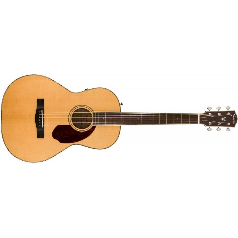 Fender PM-2 Standard Parlor Natural - Guitare électro-acoustique