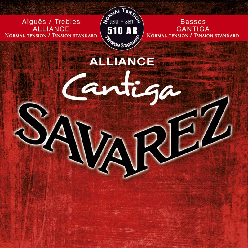 Savarez 510AR Alliance Cantiga Rouge Tirant Normal