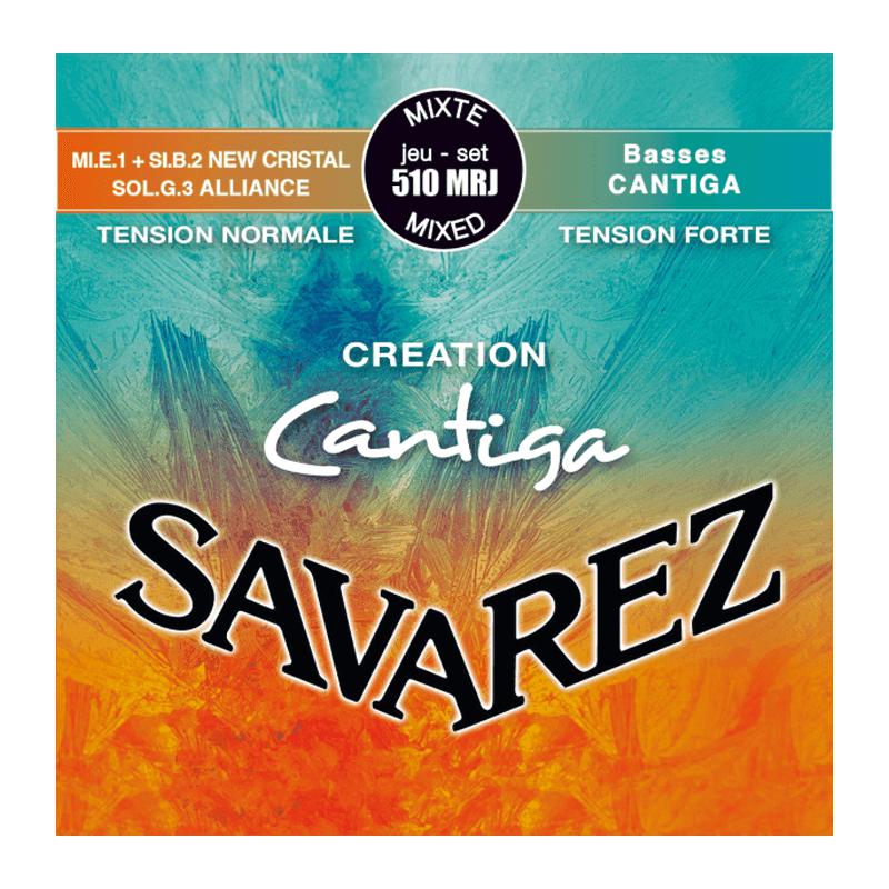 Savarez 510MRJ Rouge/Bleu Mixte - Cordes Guitare Classique