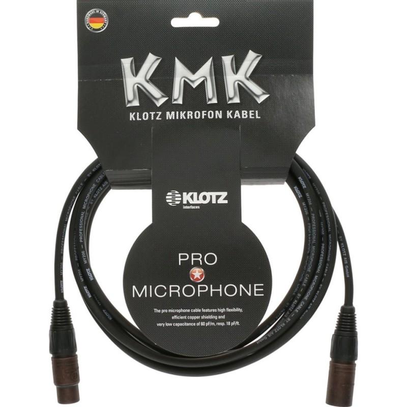 M1FM1K câble microphone pro - léger et durable, avec Neutrik compound XLR-3m
