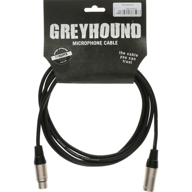 GRG1FM GREYHOUND entry level câble microphone-5m