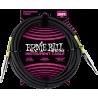 ErnieBall Jack/jack - 6m noir