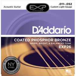 D'addario Jeux - Custom Light 11-15-22-32-42-52