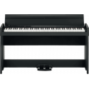 C1-AIR-BK 88 notes, Bluetooth, noir avec stand