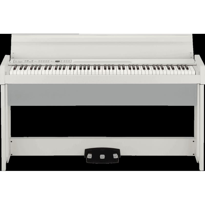 Korg 88 notes, Bluetooth, blanc avec stand