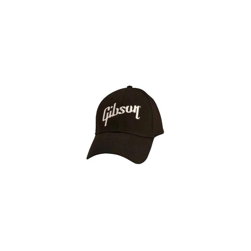 Casquette Gibson - Logo Noir & Blanc