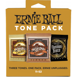 Ernie Ball Packs de 3 jeux - Light