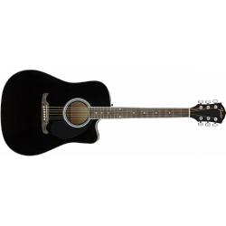 Fender FA-125CE Dreadnought, Black