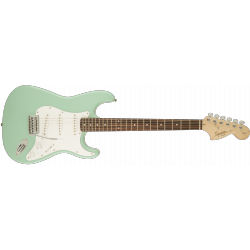 Squier y Series™ Stratocaster®, Laurel Fingerboard, Surf Green