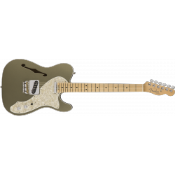 American Elite Telecaster® Thinline, Maple Fingerboard, Champagne
