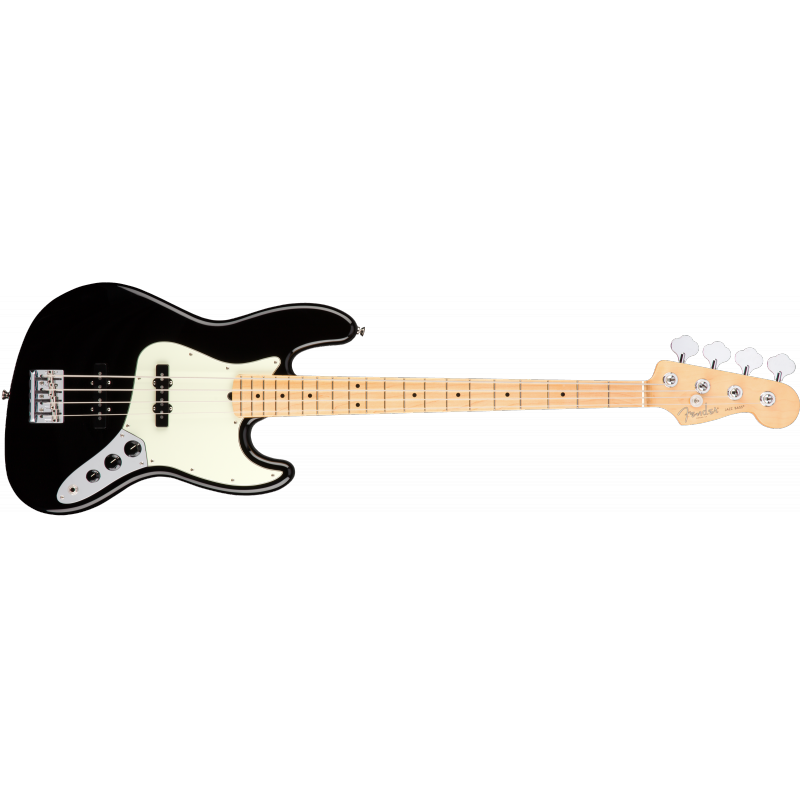 Fender American Pro Jazz Bass®, Maple Fingerboard, Black