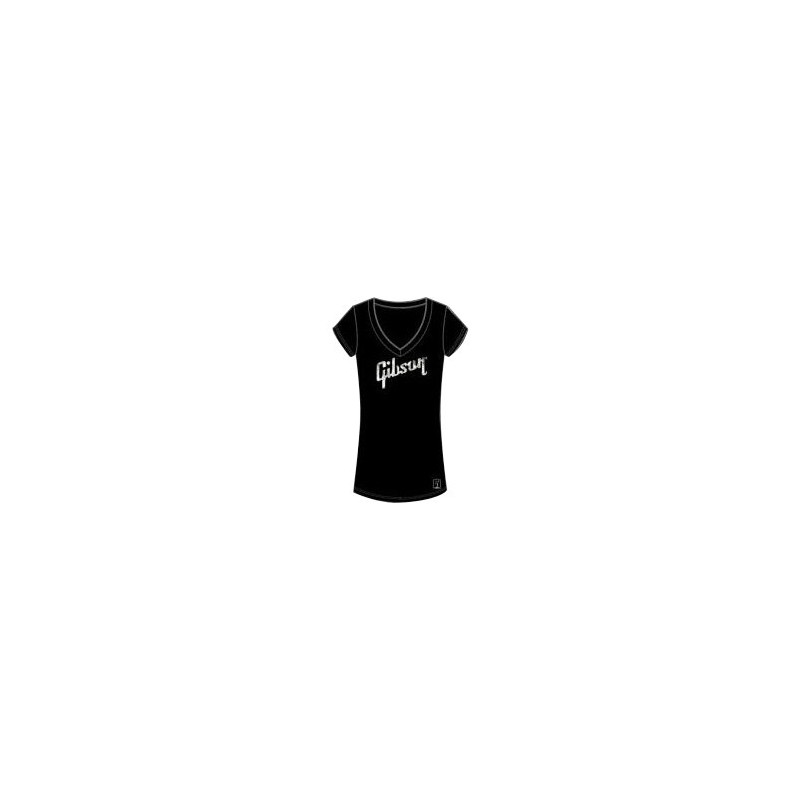 Gibson Ladies V-Neck - Femme - Black