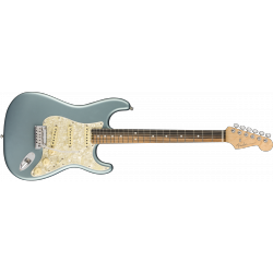 American Elite Stratocaster®, Ebony Fingerboard, Satin Ice Blue Metallic
