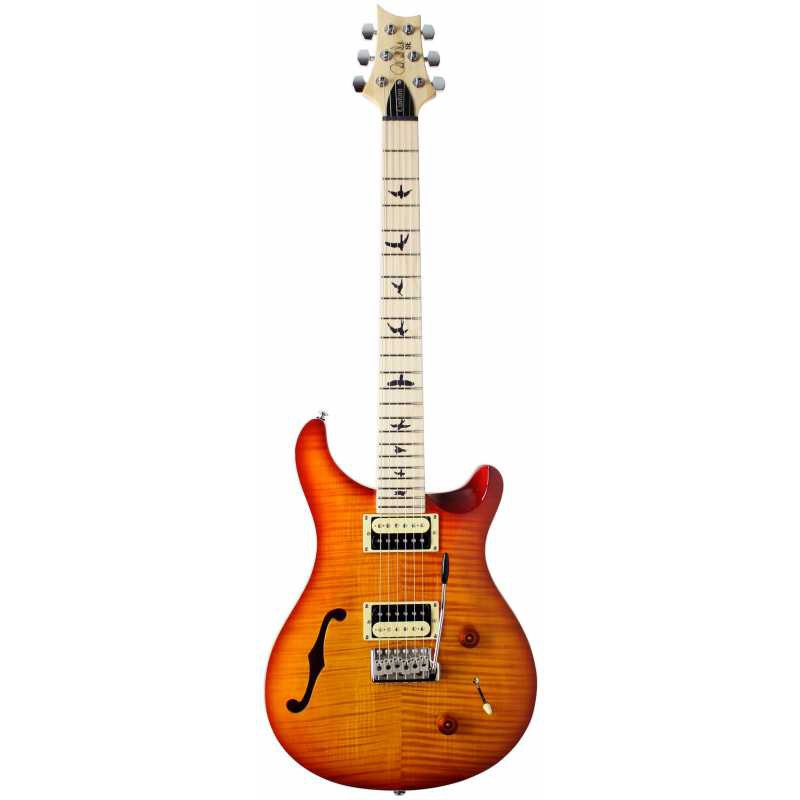 PRS SE Custom 22 Semihollow Maple Vintage Sunburst