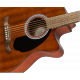 Fender FA-135CE Concert All-Mahogany, Walnut Fingerboard, Natural