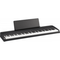 B2-BK 88 notes toucher lourd, noir