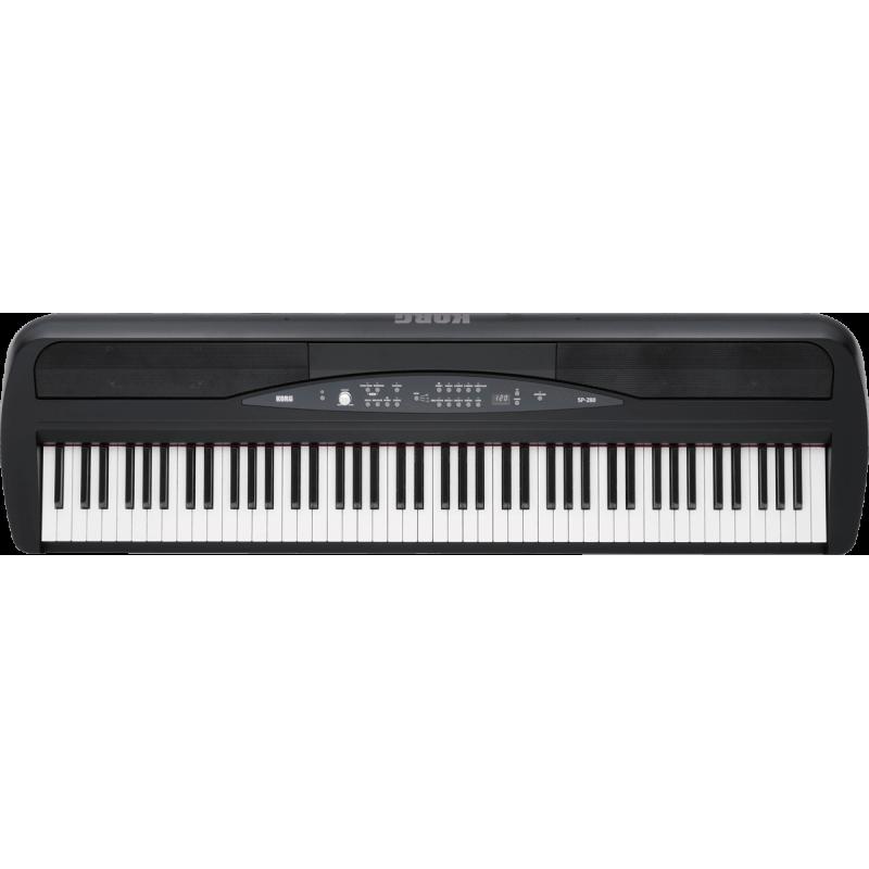 Korg SP280-BK - Piano Numérique Noir avec stand