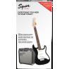 Squier Strat® SS Pack, Rosewood Fingerboard, Black