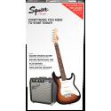 Strat® SS Pack, Rosewood Fingerboard, Brown Sunburst