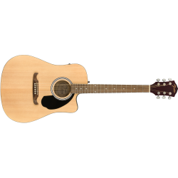 Fender FA-125CE Dreadnought, Walnut Fingerboard, Natural