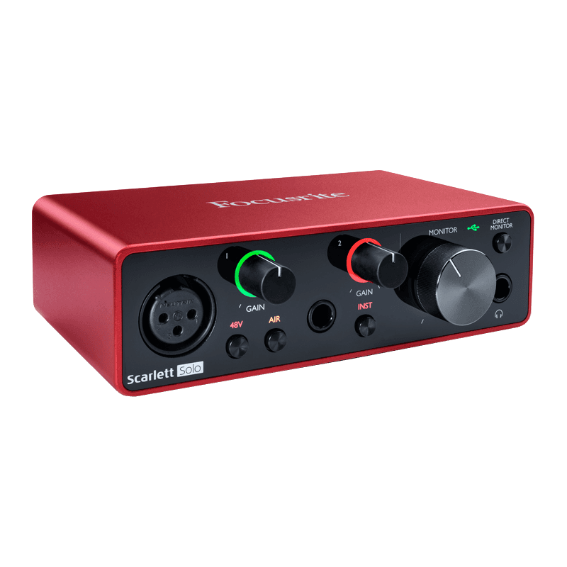 Focustite Scarlett G3 - 2 in/2 out USB-C