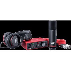 SCARLETT3-SOLO-STUDIO 2 in/2 out USB-C - micro, casque & accessoires