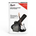 Stratocaster® Pack, Laurel Fingerboard, Black, Gig Bag, 10G - 230V EU
