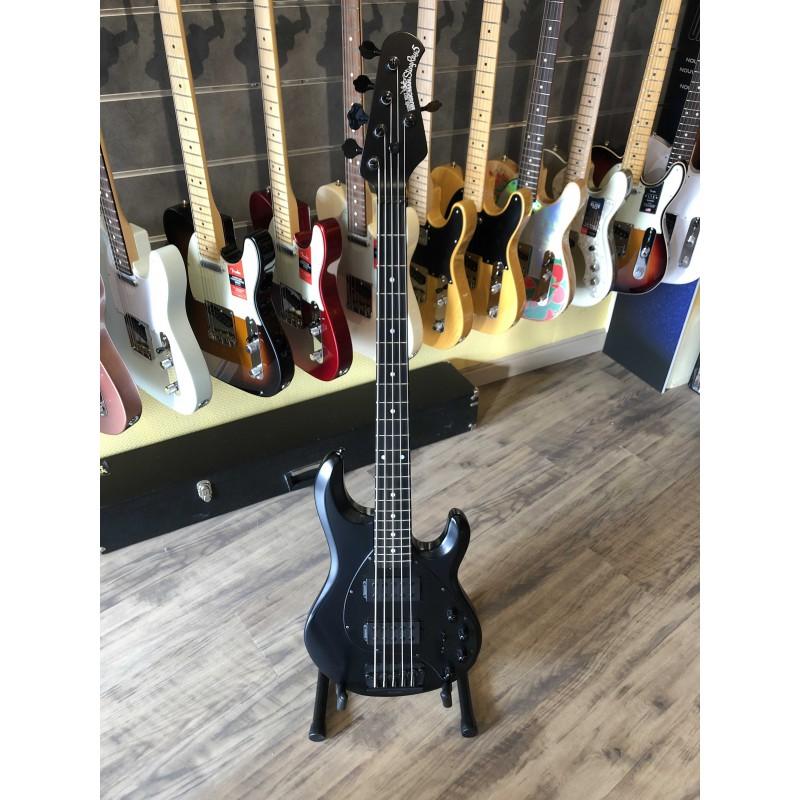 Musicman StingRay5 Special Bass HH EB Black Edition