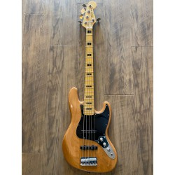 Classic Vibe '70s Jazz Bass® V, Maple Fingerboard, Natural