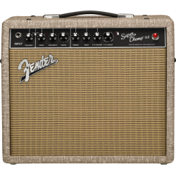 Fender 2020 Limited Edition Super Champ™ X2, Eminence® Ragin Cajun™, Fawn Wheat