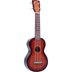 Soprano sunburst brillant + housse