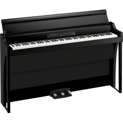88 notes, Bluetooth, noir avec stand