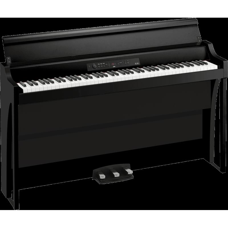 Korg 88 notes, Bluetooth, noir avec stand