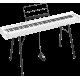 Korg D1-WH Piano numérique, 88 notes, blanc