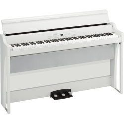 G1B-AIR-WH 88 notes, Bluetooth, blanc avec stand