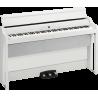 Korg G1B-AIR-WH 88 notes, Bluetooth, blanc avec stand