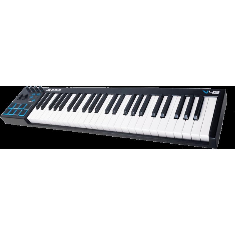 Alesis V49 USB MIDI 49 notes 8 pads