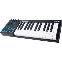 Alesis V25 USB MIDI 25 notes 8 pads