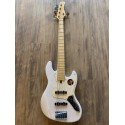 V7 Vintage Swamp Ash-5 WB MN Finition White Blond