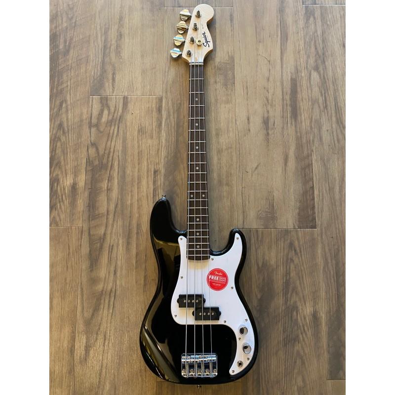 Squier Mini P Bass®, Laurel Fingerboard, Noir