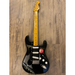 FSR Classic Vibe '50s Stratocaster®, Maple Fingerboard, Black with Black Pickguard
