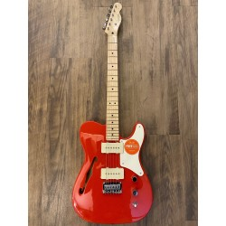 Paranormal Cabronita Telecaster® Thinline, Maple Fingerboard, Fiesta Red