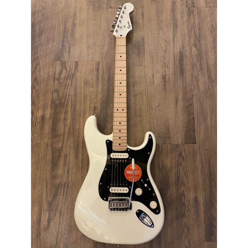 Squier Contemporary Stratocaster® HH, Maple Fingerboard, Pearl White