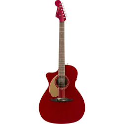 Fender Newporter Player LH, Walnut Fingerboard, Candy Apple Red