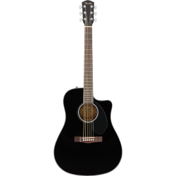 CD-60SCE Dreadnought, Walnut Fingerboard, Black